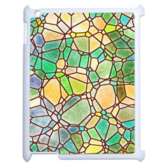 Mosaic Linda 2 Apple Ipad 2 Case (white) by MoreColorsinLife