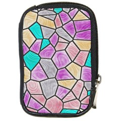 Mosaic Linda 3 Compact Camera Cases by MoreColorsinLife