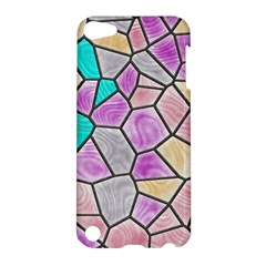 Mosaic Linda 3 Apple Ipod Touch 5 Hardshell Case by MoreColorsinLife
