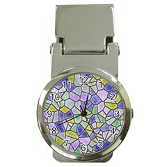 Mosaic Linda 5 Money Clip Watches by MoreColorsinLife