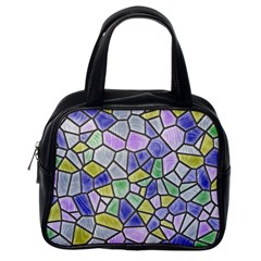 Mosaic Linda 5 Classic Handbags (one Side) by MoreColorsinLife