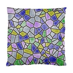 Mosaic Linda 5 Standard Cushion Case (one Side) by MoreColorsinLife