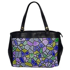 Mosaic Linda 5 Office Handbags by MoreColorsinLife