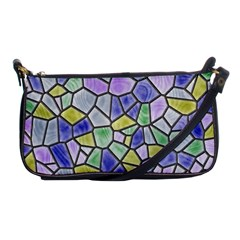Mosaic Linda 5 Shoulder Clutch Bags by MoreColorsinLife