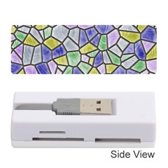 Mosaic Linda 5 Memory Card Reader (stick)  by MoreColorsinLife