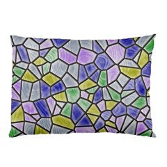 Mosaic Linda 5 Pillow Case (two Sides) by MoreColorsinLife