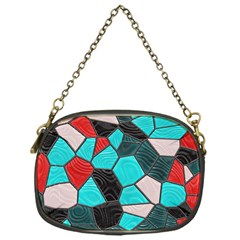 Mosaic Linda 4 Chain Purses (one Side)  by MoreColorsinLife