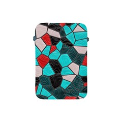 Mosaic Linda 4 Apple Ipad Mini Protective Soft Cases by MoreColorsinLife