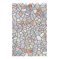 Mosaic Linda 6 Shower Curtain 48  X 72  (small)  by MoreColorsinLife