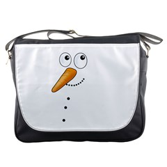 Cute Snowman Messenger Bags
