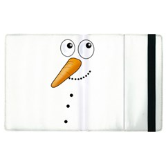 Cute Snowman Apple Ipad 3/4 Flip Case