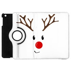 Cute Reindeer  Apple Ipad Mini Flip 360 Case