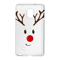 Cute Reindeer  Galaxy Note Edge by Valentinaart