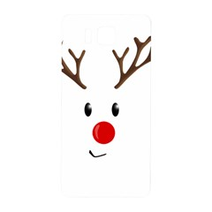 Cute Reindeer  Samsung Galaxy Alpha Hardshell Back Case by Valentinaart