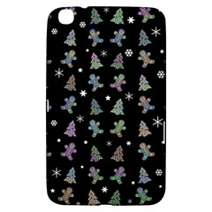 Ginger Cookies Christmas Pattern Samsung Galaxy Tab 3 (8 ) T3100 Hardshell Case  by Valentinaart
