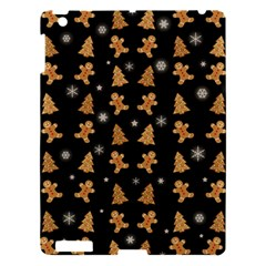 Ginger Cookies Christmas Pattern Apple Ipad 3/4 Hardshell Case