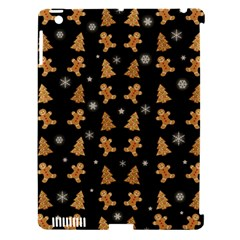 Ginger Cookies Christmas Pattern Apple Ipad 3/4 Hardshell Case (compatible With Smart Cover)