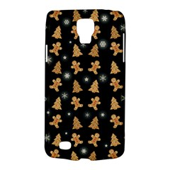 Ginger Cookies Christmas Pattern Galaxy S4 Active by Valentinaart