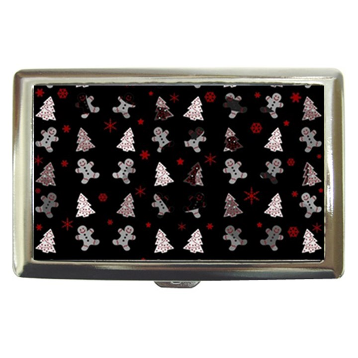 Ginger cookies Christmas pattern Cigarette Money Cases