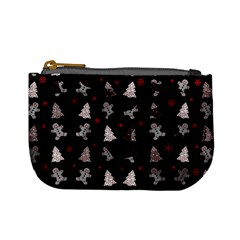 Ginger Cookies Christmas Pattern Mini Coin Purses