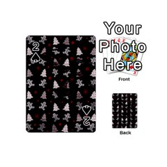 Ginger Cookies Christmas Pattern Playing Cards 54 (mini)