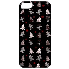 Ginger Cookies Christmas Pattern Apple Iphone 5 Classic Hardshell Case by Valentinaart