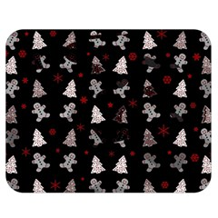 Ginger Cookies Christmas Pattern Double Sided Flano Blanket (medium)