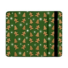 Ginger Cookies Christmas Pattern Samsung Galaxy Tab Pro 8 4  Flip Case by Valentinaart
