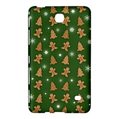 Ginger Cookies Christmas Pattern Samsung Galaxy Tab 4 (7 ) Hardshell Case  by Valentinaart