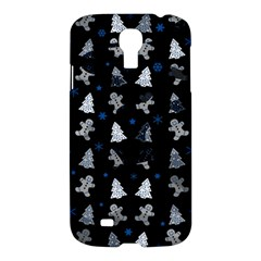 Ginger Cookies Christmas Pattern Samsung Galaxy S4 I9500/i9505 Hardshell Case by Valentinaart