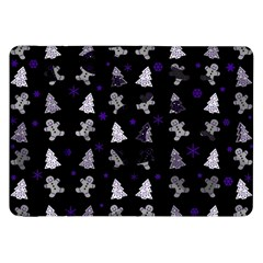 Ginger Cookies Christmas Pattern Samsung Galaxy Tab 8 9  P7300 Flip Case by Valentinaart