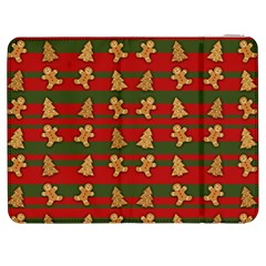 Ginger Cookies Christmas Pattern Samsung Galaxy Tab 7  P1000 Flip Case by Valentinaart