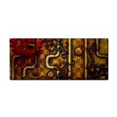 Noble Steampunk Design, Clocks And Gears With Floral Elements Cosmetic Storage Cases by FantasyWorld7