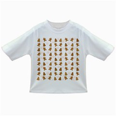 Ginger Cookies Christmas Pattern Infant/toddler T Shirts