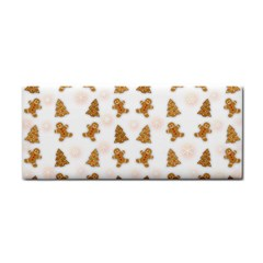 Ginger Cookies Christmas Pattern Cosmetic Storage Cases by Valentinaart
