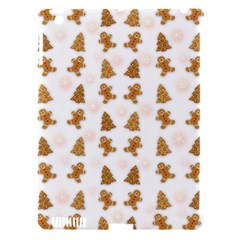 Ginger Cookies Christmas Pattern Apple Ipad 3/4 Hardshell Case (compatible With Smart Cover) by Valentinaart
