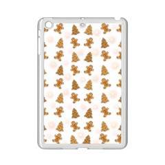 Ginger Cookies Christmas Pattern Ipad Mini 2 Enamel Coated Cases by Valentinaart