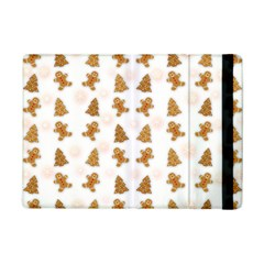 Ginger Cookies Christmas Pattern Ipad Mini 2 Flip Cases by Valentinaart