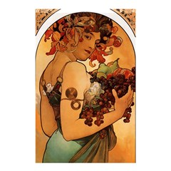Alfons Mucha   Fruit Shower Curtain 48  X 72  (small)  by 8fugoso