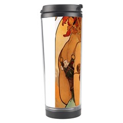Alfons Mucha   Fruit Travel Tumbler by 8fugoso