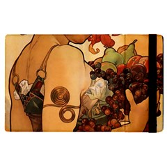 Alfons Mucha   Fruit Apple Ipad Pro 9 7   Flip Case by 8fugoso