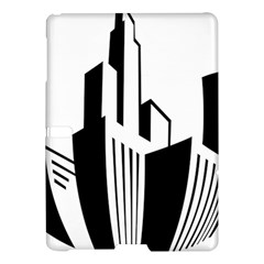 Tower City Town Building Black White Samsung Galaxy Tab S (10 5 ) Hardshell Case