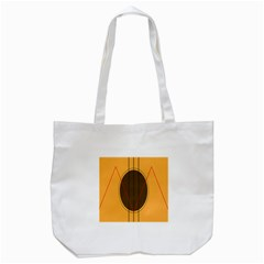 Guitar Picking Tool Line Tone Music Tote Bag (white) by Jojostore
