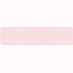 Red Line Plaid Vertical Horizon Large Bar Mats by Jojostore