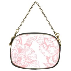 Vintage Pink Floral Chain Purses (two Sides)  by 8fugoso