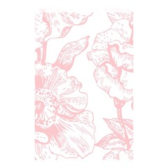 Vintage Pink Floral Shower Curtain 48  X 72  (small)  by 8fugoso