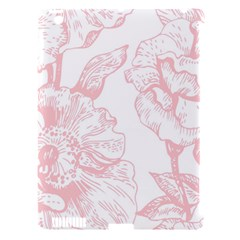 Vintage Pink Floral Apple Ipad 3/4 Hardshell Case (compatible With Smart Cover) by 8fugoso