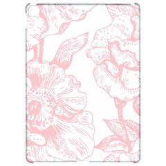 Vintage Pink Floral Apple Ipad Pro 12 9   Hardshell Case by 8fugoso