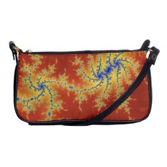 Fractals Shoulder Clutch Bags by 8fugoso