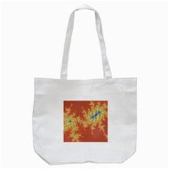 Fractals Tote Bag (white) by 8fugoso
